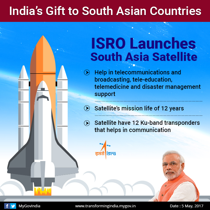 ISRO, South Asia Satellite