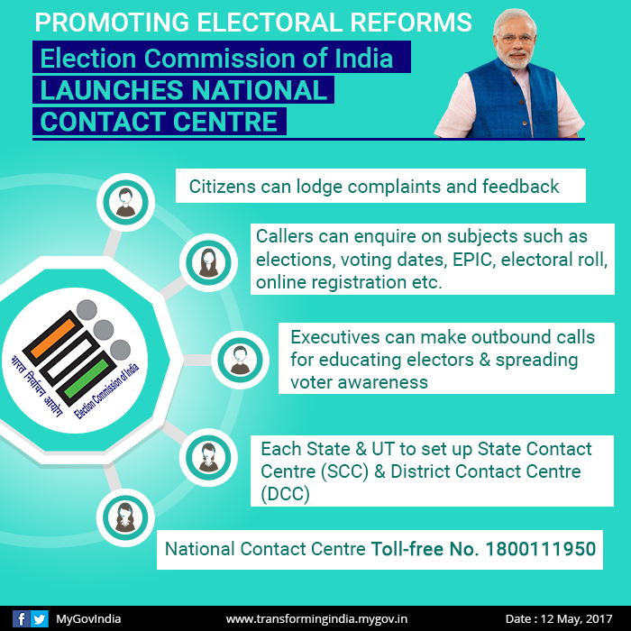 Election Commission of India, Electoral Reforms