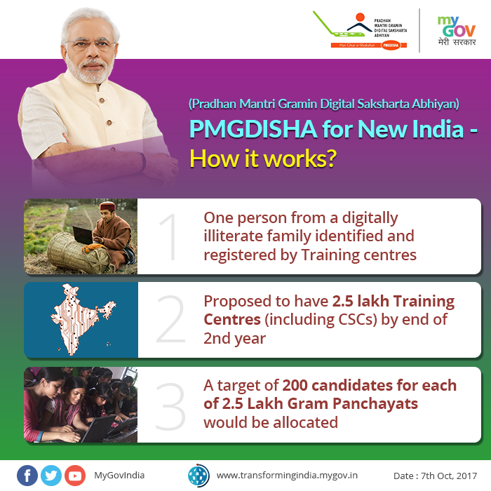 PMGDISHA for New India