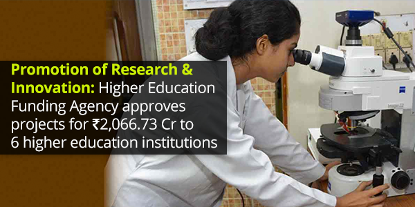 Research and Innovation in Higher Education