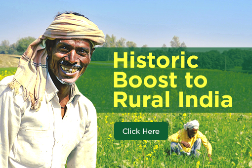 Historic Boost to Rural India